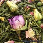 Зеленый с добавками чай
