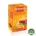 """Alokozay черный """"Апельсин"""" 25*2 г"""