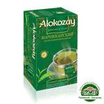 Марокканский зеленый чай с марокканской мятой Alokozay 25*2 г