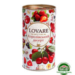 "Чай LOVARE Ловаре ""Королевский десерт"" 80 г тубус"