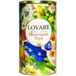"""Чай """"Молочный улун"""" LOVARE Ловаре  80 г тубус"""