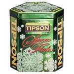 "Чай Tipson Типсон ""Снежинка"" Зеленая 100г ж/б"