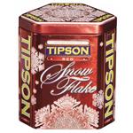 """Чай Tipson Типсон """"Снежинка"""" Красная 100г ж/б"""