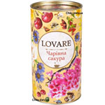 """Чай """"LOVARE"""" Волшебная сакура 80г тубус"""