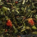 Зеленый чай Ягода-малина