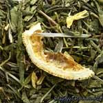 Зеленый чай Лимон Базилик
