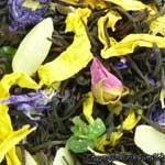 Черный чай Пинья колада