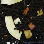 Черный чай Банан,яблоко,кокос
