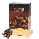Кофейные зерна в шоколаде 70 г Shoude