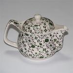 """Чайник керамический с металлическим ситом """"Зеленый"""" 350 мл"""