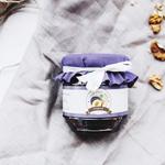 Сливовое варенье со сливовым вином и греческим орехом