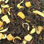 Черный чай Айва с персиком