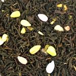 Черный чай с халвой