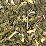 Зеленый чай Лимонный крем с женьшенем