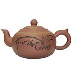 """Глиняный чайник """"Птицы среди цветов"""", 350 мл."""