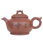 """Глиняный чайник """"Цветы сливы"""", 600 мл."""