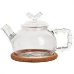 """Стеклянный заварочный чайник """"Бамбук"""", 630 мл"""