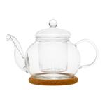 """Стеклянный заварочный чайник """"Подснежник"""", 350 мл"""