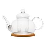"""Стеклянный заварочный чайник """"Нарцисс"""", 350 мл"""