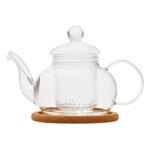 """Стеклянный заварочный чайник """"Лотос"""", 450 мл"""