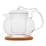 """Стеклянный заварочный чайник """"Эдельвейс"""", 450 мл"""