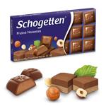 Шоколад молочный Schogеtten Praline Noisettes ( с Ореховой нугой)