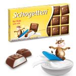 Шоколад молочный Schogеtten Per Bambini for kids (Детский)