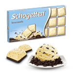 Шоколад молочно-белый Schogеtten Stracciatella (с Пломбиром)