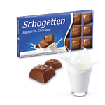 Шоколад молочный Schogetten Alpine Milk Schokolate