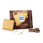 "Шоколад молочный Ritter sport ""С печеньем"""
