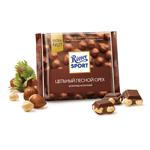 """Шоколад молочный Ritter sport """"Цельный лесной орех"""""""