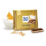 Шоколад молочный Ritter Sport Olympia - С йогуртом, медом и орехами