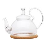 """Стеклянный заварочный чайник """"Жоржин средний"""", 600 мл"""