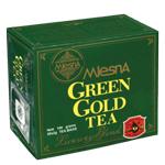 Зеленый чай Mlesna Грин Голд в пакетиках 50*2 г
