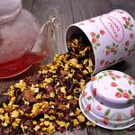 Фруктовый чай Клубничный зефир