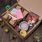 """Подарочный набор в коробке """"Клубничный рай"""""""