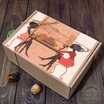 "Картонная подарочная коробка ""Lady style"""