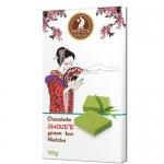 Шоколад SHOUD'E зеленый чай Matcha 90 г