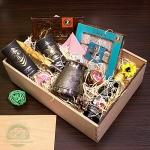 """Подарочный набор в деревянном ящике """"Лань"""""""