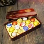 Подарочный набор пуеров,15 миниточа