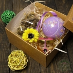 """Подарочный набор в коробке """"Цветочек"""""""