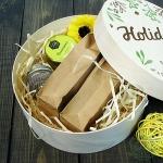 Подарочный набор в деревянной коробке Маффин