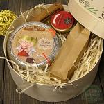 Подарочный набор в деревянной коробке Тайное желание