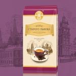Кофе Кава Старого Львова Люксова 250 г молотый