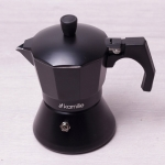 Кофеварка 450мл Kamille (2513) алюминий индукция
