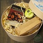 Подарочный набор в деревянной коробке Prezent mini