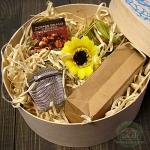 Подарочный набор в деревянной коробке Маффин z2