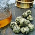 Вязаный чай Хуа Ли Чи (Жасминовый Ли Чжи)