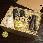"""Подарочный набор в деревянном ящике """"Yemen"""""""