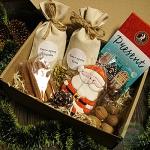 """Подарочный набор в коробке """"Сюрпризы от Деда Мороза """""""